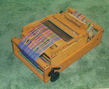Folded Table Loom